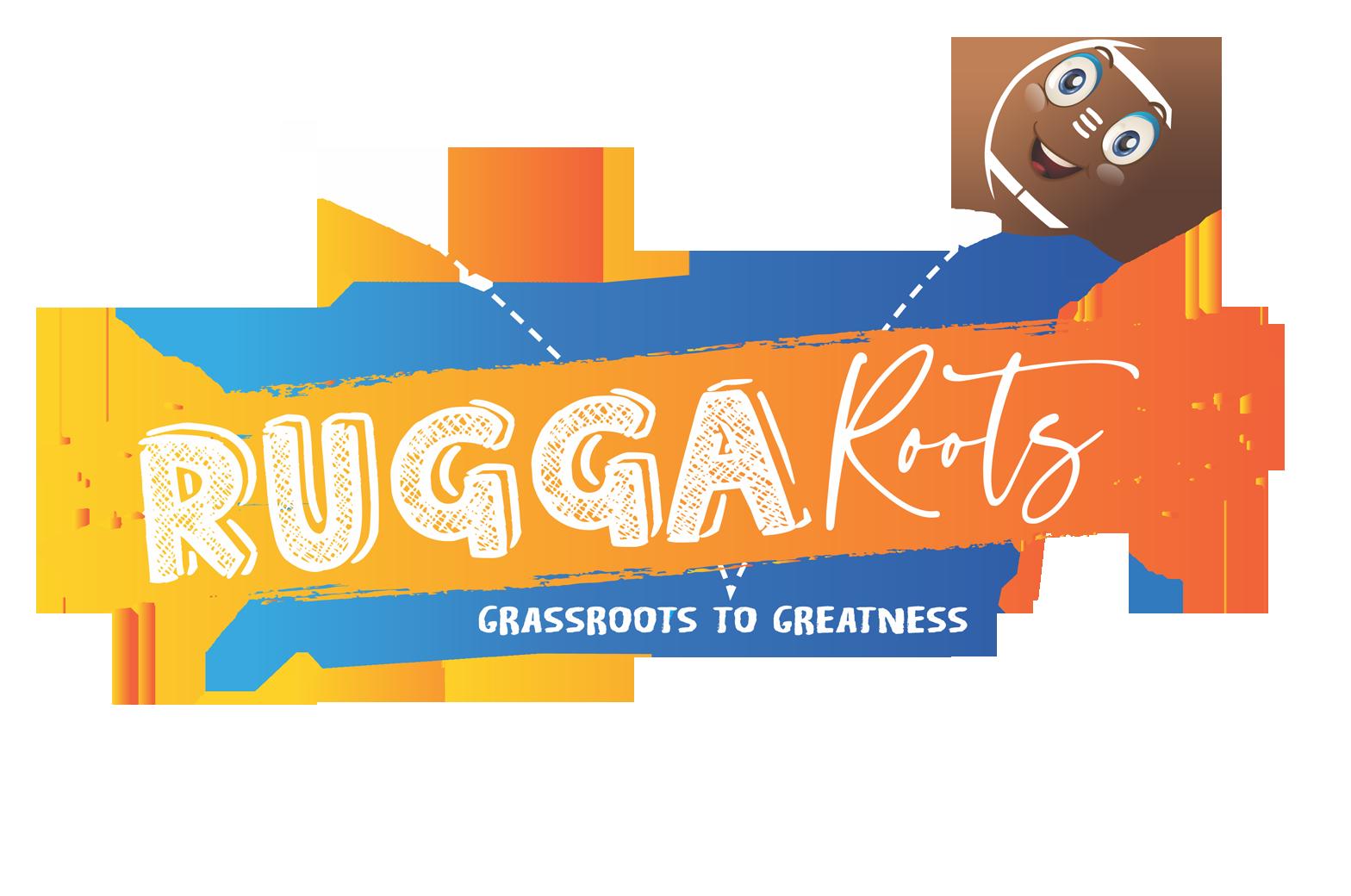 Rugga Roots white logo